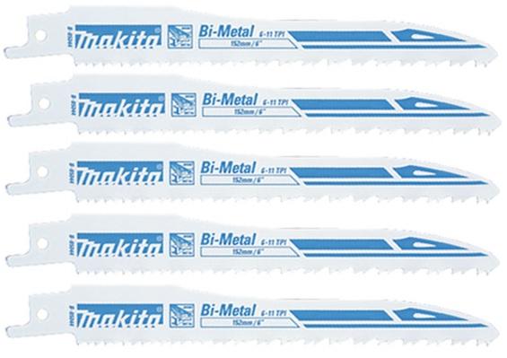 B-05044 - Makita Bimetalový pilový plátek pro pily ocasky 130 mm, 5 ks