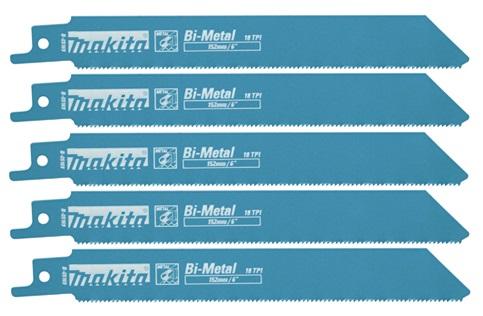 B-05169 - Makita Pilový plátek pro pily ocasky na kov 130 mm, 5 ks