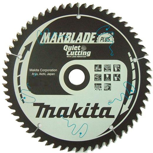 B-08676 - Makita Pilový kotouč MAKBLADE Plus 216 x 2,1 x 30 mm, 60 zubů, dřevo