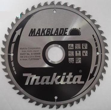 B-08969 - Makita Pilový kotouč MAKBLADE 216 x 2,4 x 30 mm, 48 zubů, dřevo