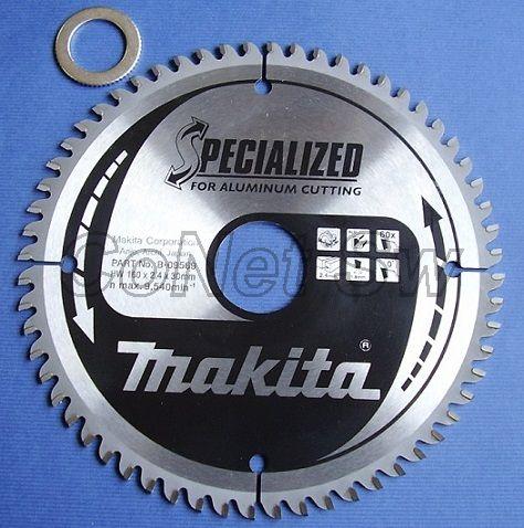 B-09569 - Makita Pilový kotouč TCT 160 x 2,4 x 30(20) mm, 60 zubů /hliník/plasty/lamino