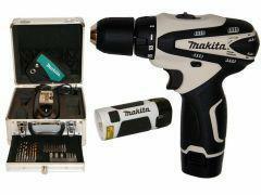 DF330DWX01 - Makita Aku 2-rychlostní šroubovák Ø10mm, 22Nm, 300/1300ot, 10,8V 1,3Ah Li-ion, lampa, hliník. kufr