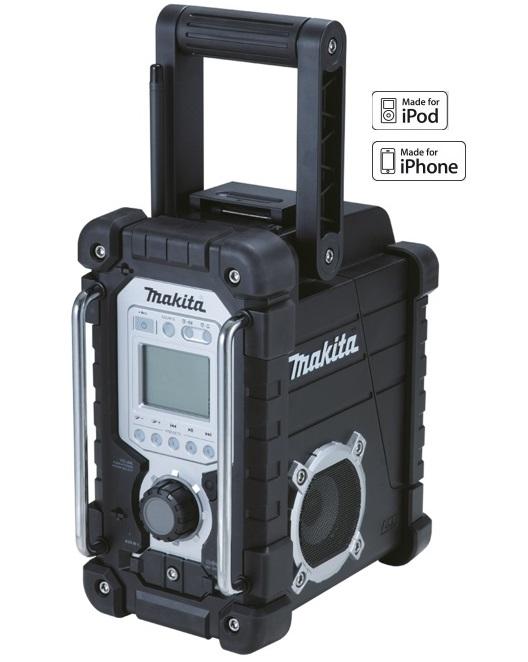 DMR103B - Makita Aku rádio 7,2V-18V s připojením iPod, iPhone