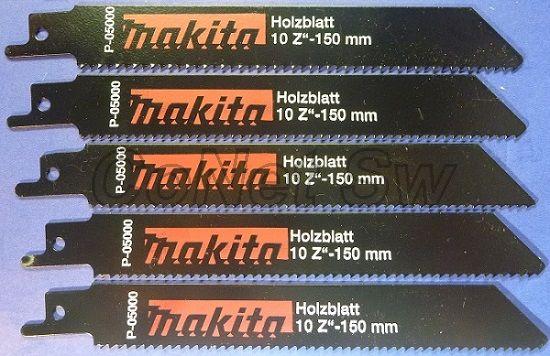 P-05000 - Makita Pilový plátek pro pily ocasky 130 mm, 5 ks