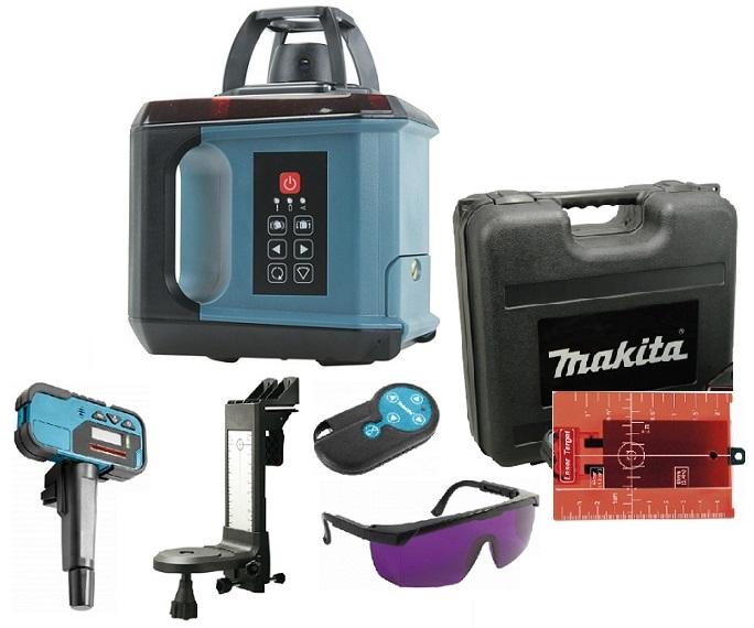 SKR200Z - Makita Laser rotační v kufru s příslušenstvím